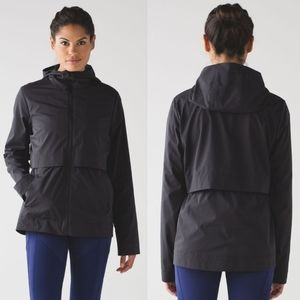 Lululemon Nonstop Jacket Sz 6 EUC Black